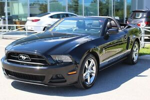 2014 Ford Mustang V6*CONVERTIBLE*AUTO*305HP*AC*CUIR*BLUETOOTH*EL