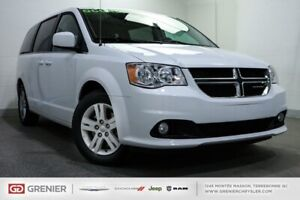 2018 Dodge Grand Caravan CREW PLUS+NAV+CUIR+BLUETOOTH CREW PLUS+