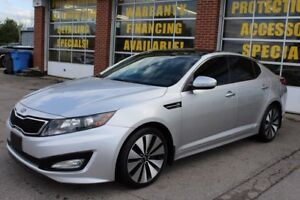 2011 Kia Optima Turbo SX, NAVI, BACK up cam