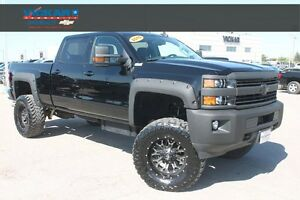 2015 Chevrolet Silverado 2500HD LT BLACCK ON BLACK COLOUR, 37'TI
