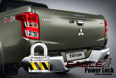 Mitsubishi L200 Series 5 Tailgate Lock Central Locking Power Lock Kit 15 On for sale  Shipping to Ireland