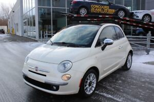 2012 Fiat 500C LOUNGE*BLUETOOTH*CRUISE*AC*BOSE*DECAPOTABLE*