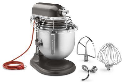 KitchenAid KSMC895DP Bowl Guard Commercial Mixer 8 Qt NSF 1.3HP Dark Pewter