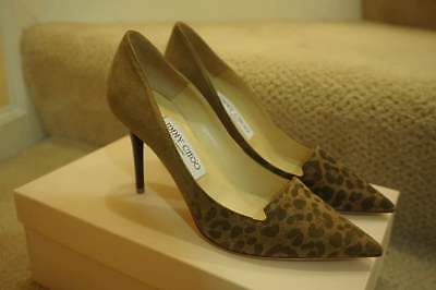 Authentic Jimmy Choo Allure pump suede|leopard size:36.5