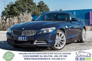 2011 BMW Z4 sDrive35i  6 speed manual Accident free Certified