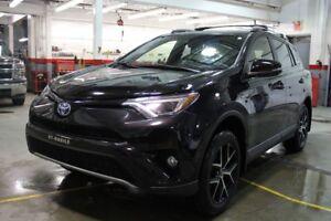 2017 Toyota RAV4 Hybrid SE HYBRIDE AWD CUIR MAGS TOIT BLUETOOTH