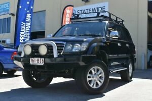 2005 Toyota Landcruiser UZJ100R GXL (4x4) Black 5 Speed Automatic Wagon East Brisbane Brisbane South East Preview