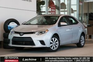 2014 Toyota Corolla LE VERY CLEAN! BACK UP CAMERA! HEATED SEATS!