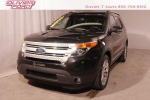 2013 Ford Explorer XLT 4X4 CUIR TOIT NAV CAMÉRA MAGS A/C