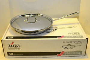 All Clad 12 Fry Pan Ebay