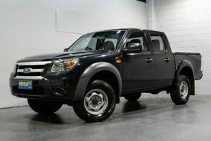2011 Ford Ranger PK XL (4x4) Black 5 Speed Automatic Dual Cab Pick-up
