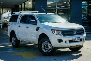 2014 Ford Ranger PX XL Hi-Rider White 6 Speed Sports Automatic Utility Myaree Melville Area Preview