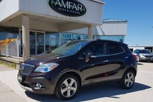 2014 Buick Encore AWD / Leather / CXL / NO PAYMENTS FOR 6 MONTHS