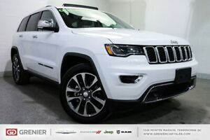 2018 Jeep Grand Cherokee Limited+TOIT PANO+SIÈGES VENTILLÉS Limi