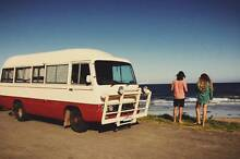 Coolest Old School Toyota Coaster!! Hermit Park Townsville City Preview