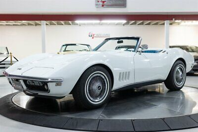 1968 White Chevrolet Corvette Convertible  | C3 Corvette Photo 1