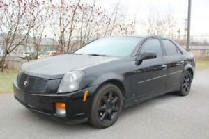 2007 Cadillac CTS LUXE*SIEGE CHAUFF** BI-ZONE** CUIR** MAGS** TO