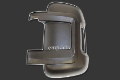 FIAT DUCATO PEUGEOT BOXER CITROEN RELAY Door Wing Mirror Casing Cover Left NS
