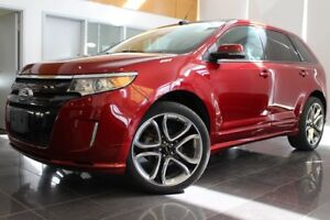 2014 Ford Edge SPORT+ TOIT PANORAMIQUE+ NAVIGATION + MAGS 22 PO