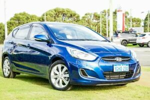 2017 Hyundai Accent RB5 MY17 Sport Blue 6 Speed Sports Automatic Hatchback Wangara Wanneroo Area Preview