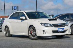 2013 Subaru Impreza G3 MY14 WRX AWD White 5 Speed Manual Sedan