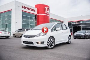 2014 Honda Fit Sport FIABLE ET ÉCONOMIQUE