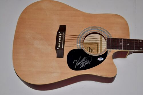 Vince Gill Signed Autographed Full Size Acoustic Guitar The Eagles PSA/DNA COA