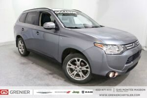 2014 Mitsubishi Outlander GT+AWD+7 PASSAGERS+TOIT+CUIR GT+AWD+7