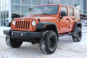 2011 Jeep Wrangler Unlimited RUBICON*4X4*AC*UNLIMITED*2 TOIT*
