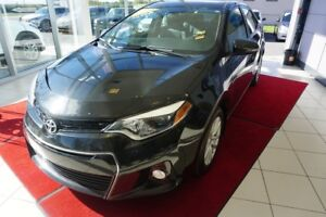 2015 Toyota Corolla S-DEMI-CUIR-CAMÉRA-BLUETOOTH-COMME NEUF