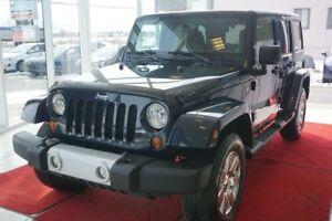 2013 Jeep WRANGLER UNLIMITED SAHARA SAHARA-ENSEMBLE 2 TOIT-4X4-U