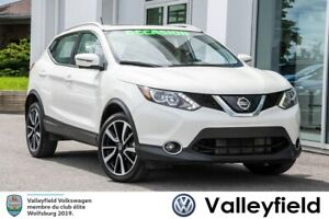 2018 Nissan Qashqai SL AWD+CUIR+NAVI+TOIT FULLY LOADED!