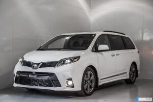 2018 Toyota Sienna SE 2000$ ACCESSOIRES INCLUS TECH PACKAGE WITH
