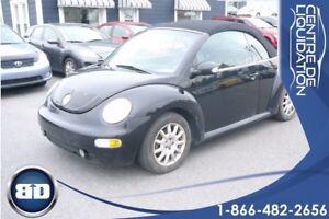2004 Volkswagen New Beetle Convertible GLS   DÉCAPOTABLE