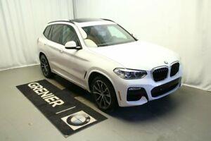 2019 BMW X3 Premium package, Ligne M sport