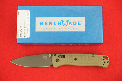 BENCHMADE 535GRY-1 BUGOUT CPM-S30V AXIS LOCK GRAY PVD COATED BLADE KNIFE