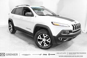 2017 Jeep Cherokee TRAILHAWK+V6+NAV+17 000KM
