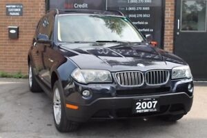 2007 BMW X3 3.0i *EXCELLENT SHAPE, PANO ROOF, CERTIFIED*