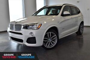 2015 BMW X3 XDrive28i M SPORT+PREMIUM+GPS+TOIT-PANO+++