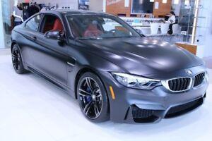 2018 BMW M4 Coupe ,Noir Mat, M transmission et suspension