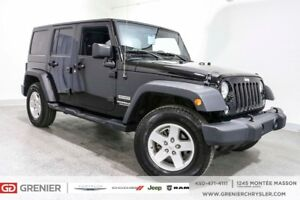 2015 Jeep Wrangler Unlimited UNLIMITED+30 000KM+A/C