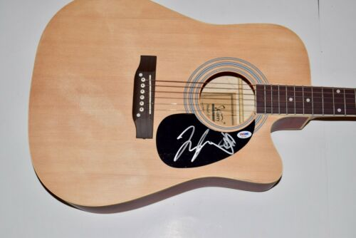 Florida Georgia Line Signed Acoustic Guitar Tyler Hubbard Brian Kelley PSA COA