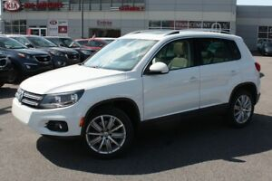 2014 Volkswagen Tiguan HIGHLINE/4 MOTION**GPS** TOIT PANORAMIQUE
