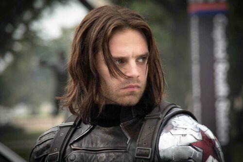 Captain America The Winter Soldier 2014 Sebastian Stan as Bucky Barnes - CL1546