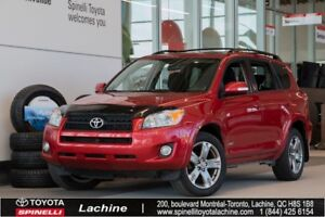 2010 Toyota RAV4 Sport - 4WD VERY CLEAN! 4X4! MAGS! SUNROOF! A/C