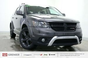 2018 Dodge Journey CROSSROAD+AWD+7 PASS+DVD+CUIR CROSSROAD+AWD+7
