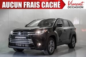 2018 Toyota Highlander LIMITED 1150$ OF ACCESSORY INCLUDED