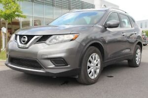 2015 Nissan Rogue S +A/C+CRUISE+COMM. AU VOLANT+MAGS S +A/C+CRUI