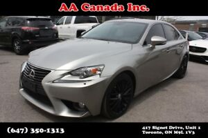 2014 Lexus IS 250 ACCIDENT FREE ONE OWNER