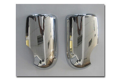Brand New Ford Transit MK6 Door Wing Mirror Chrome Trim Covers Pair 2000 2006